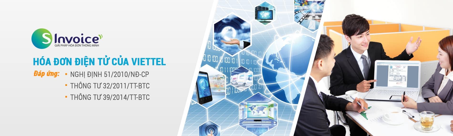 Phần mềm hóa đơn điện tử Viettel