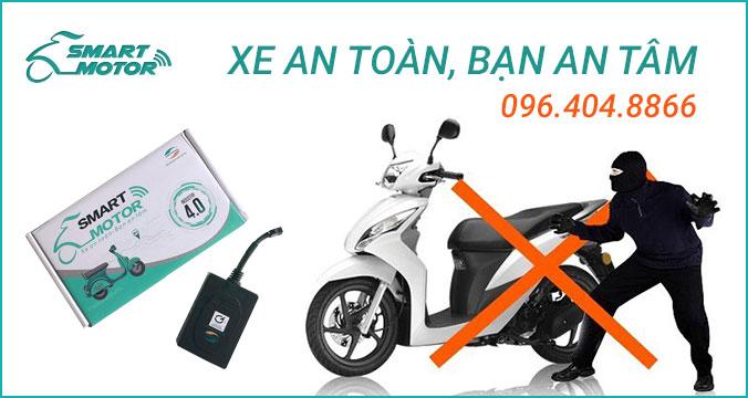 Tính năng chống trộm xe máy